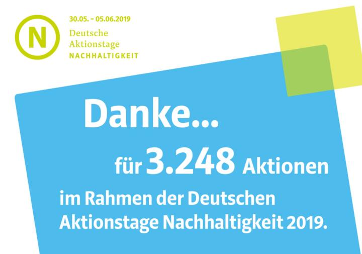 DAN 2019 sind voller Erfolg: 3.248 Aktionen