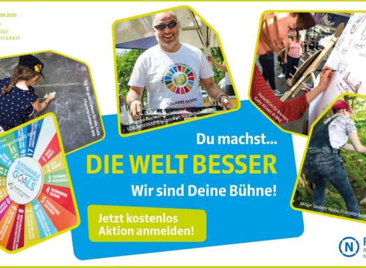 Deutsche Aktionstage Nachhaltigkeit auf September verschoben