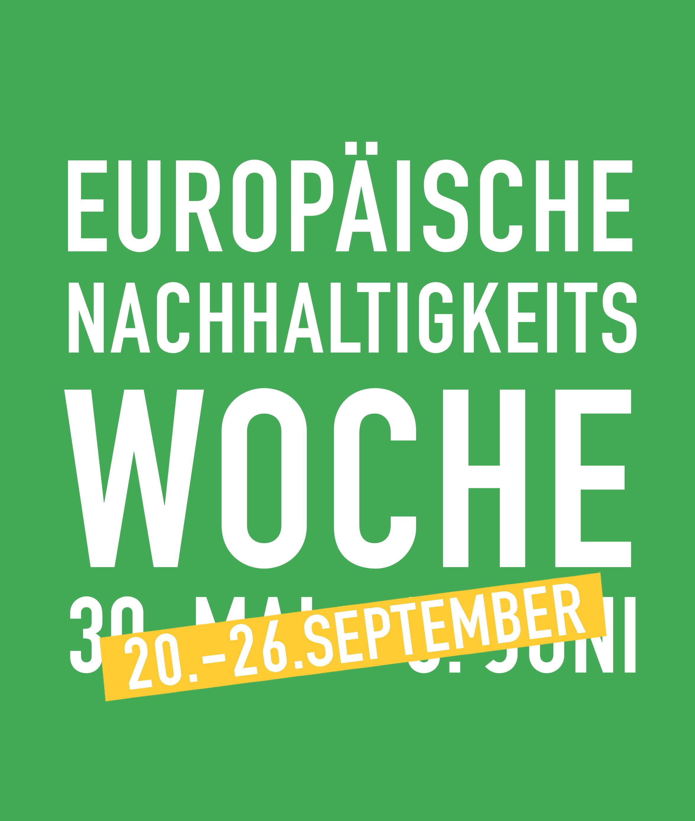 Logo Europäische Nachhaltigkeits-Woche