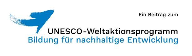 Logo UNESCO-Weltaktionsprogramm Bildung für nachhaltige Entwicklung