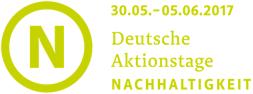 Logo Deutsche Aktionstage Nachhaltigkeit