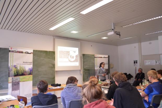 Bild 7 von 10: Vortrag in der Justus-von-Liebeig-Schule Hannover