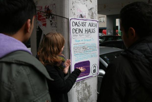 Bild 3 von 4: Refugees Welcome Tour (c) id22
