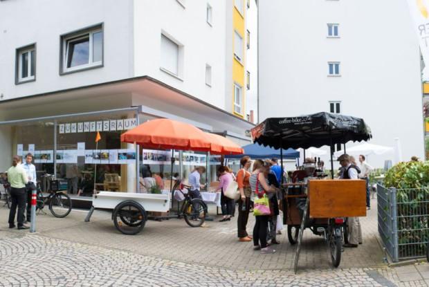 Bild 6 von 6: Eröffnung des 'Zukunftsraums' im Quartier Oststadt