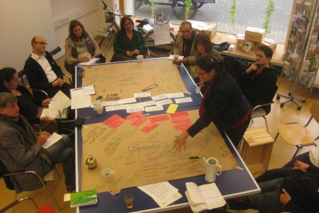 Bild 1 von 6: Workshop mit dem Global Ecovillage Network (GEN)