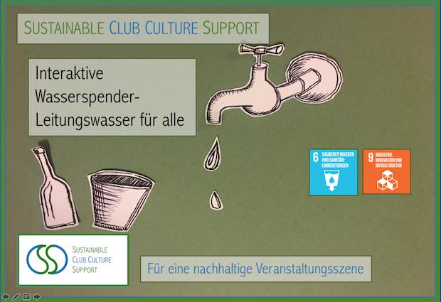 Bild 2 von 5: Nachhaltigkeitsmaßnahme - Leitungswasser