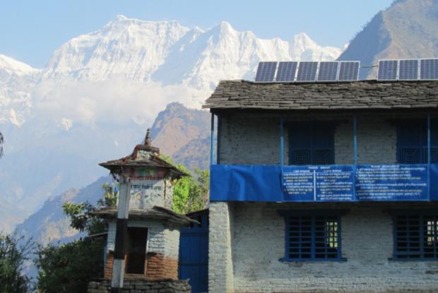 Bild 2 von 6: ©AEPC, Solarenergie für Nepal