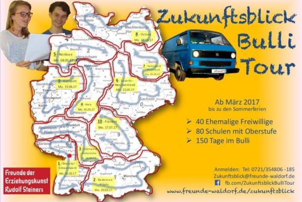 Im Projektzeitruam ist er in Brandenburg