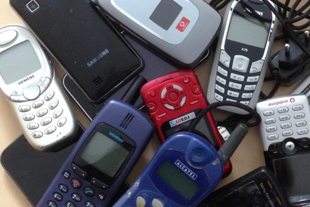 Alt-Handys sind Rohstoffquellen