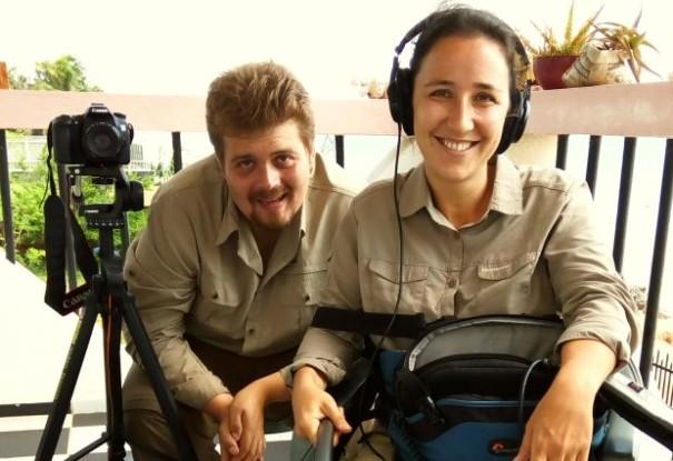 Bild 2 von 2: Our video team