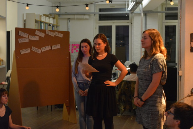 Bild 3 von 3: Gedankenreise als Einstieg in den Kreativworkshop