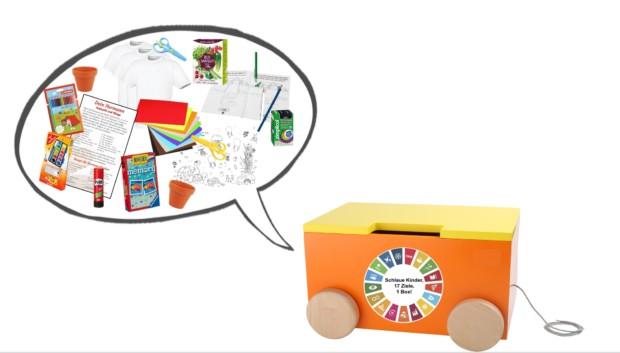 Bild 1 von 4: Aktionsbox 'Schlaue Kinder, 17 Ziele, 1 Box!'