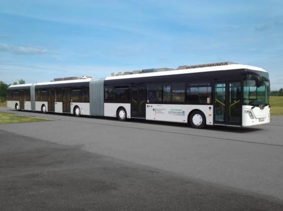 Bild 5: AutoTram mit Hybridantrieb f Städte ohne Schienen