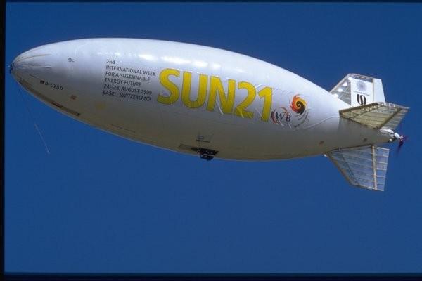 Bild 3: Solarluftschiff Lotte, emissionsfrei fliegen
