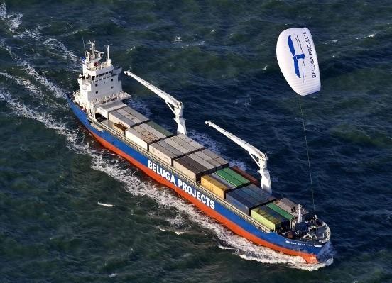 Bild 6: Schleppsegel für Ozeanriesen reduzieren Emissionen