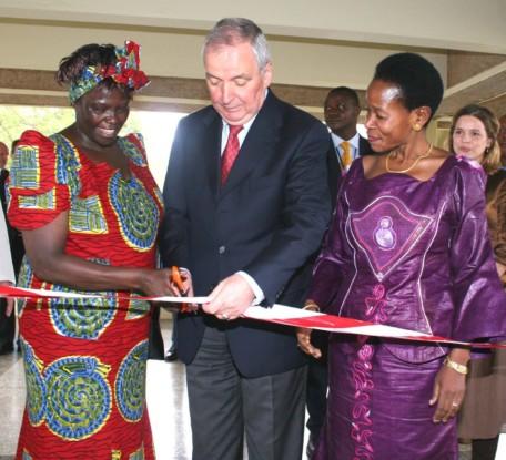 Bild 9: Eröffnung der Ausstellung RE-ART ONe in Nairobi