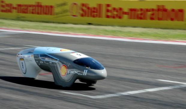 Bild 8: Weltrekordauto Paccar2, 5385 km/l Benzinäquivalent