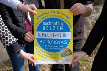 Plakat Aktionstag \'Nachhaltig Uelzen\'