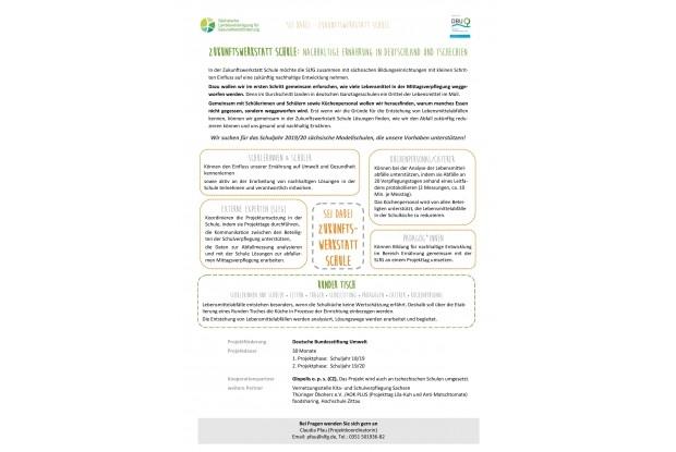 Schulen für SJ 18/19 gesucht-Projektbeschreibung