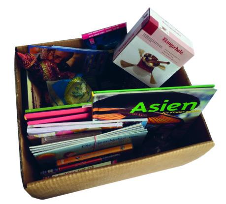 Bild 11: Bildungsmaterial kompakt verpackt für den Verleih