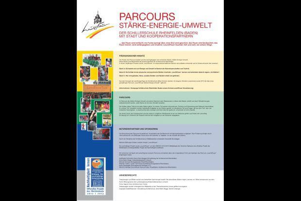 Bild 6 von 8: Hinweistafel ' LeuchtFeuer Parcours '