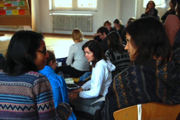 Bild 4 von 4: Teilnehmende auf dem RENew-Seminar; Foto: S. Böger