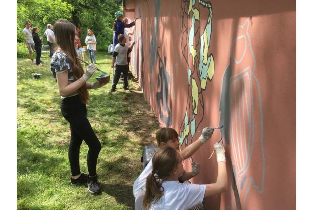 Bild 13: Internationale Wandmalerei Oberpfalz