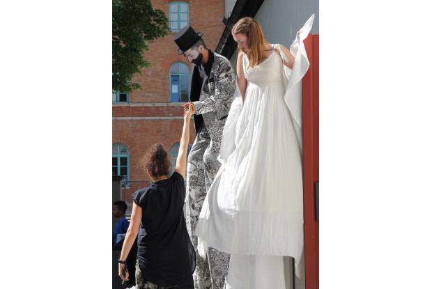 Bild 8: Jugendkunstschultag _Rosenheim Performance