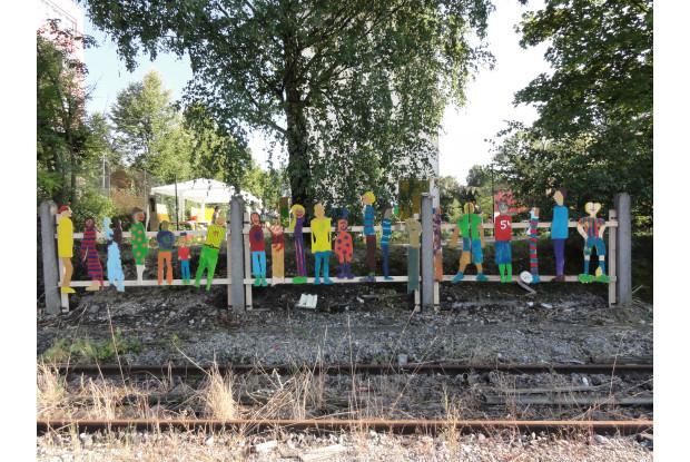 Bild 2: Kunstprojekt München