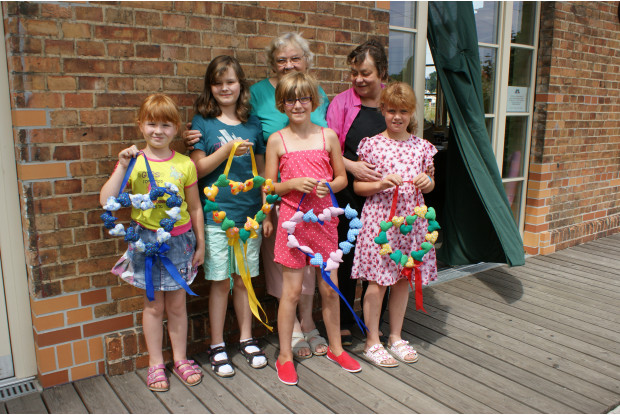 Bild 7: Kreativgruppe für Kinder am GLEIS 3