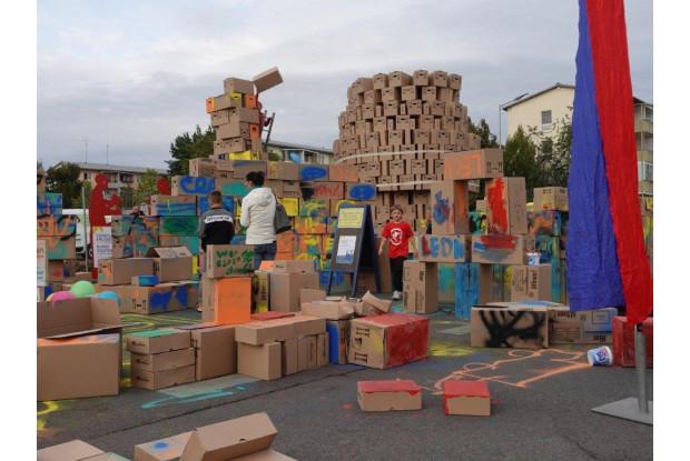 Bild 4: Stadtumbau mit Bürgerbeteiligung zum Lindenfest