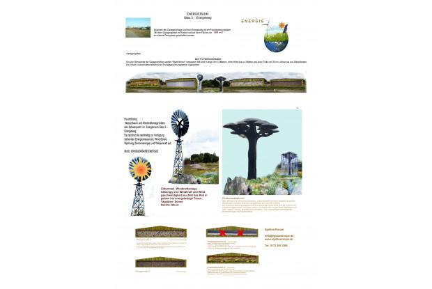 Bild 9: Ideen Skizze des Energiefeldes am GLEIS 3