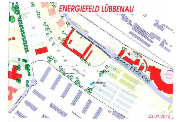 Bild 6: Stadtplan Umfeld GLEIS 3