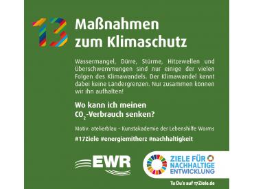 EWR Bierdeckel 17 SDGs