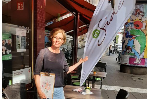 Das Café InSide, Ecke Schaafenstrasse