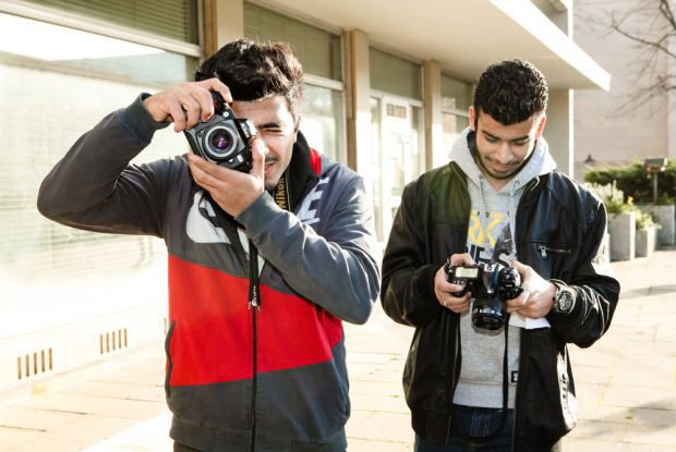 Bild 1 von 9: Syria on the Move: Fotoworkshop in Potsdam
