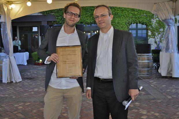 Bild 6 von 8: Maastricht University Green Office gewinnt Student Leadership Award von ISCN