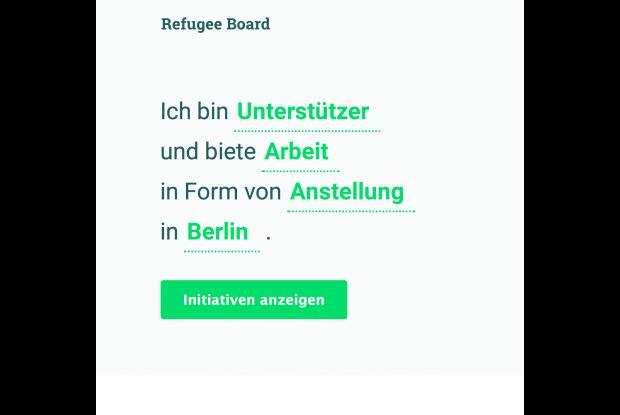 Bild 2 von 2: Ansicht Refugee Board