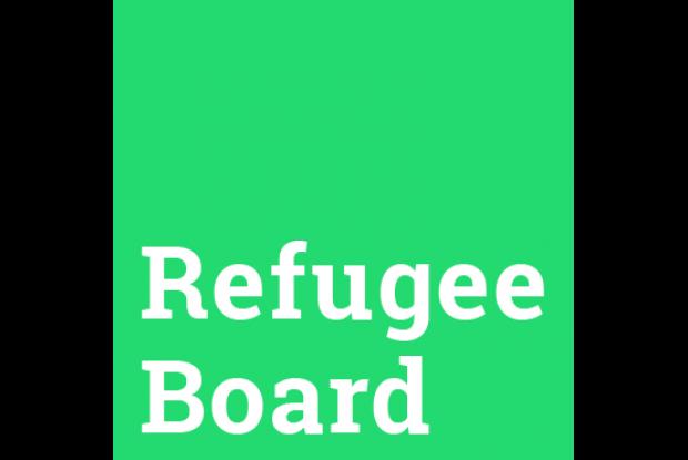 Bild 1 von 2: Logo Refugee Board